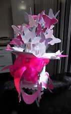 BUTTERFLY POP UP card & stand Birthday/Easter,  Mum , Mam Mom Nan,Aunty Etc