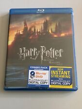 Harry Potter and the Deathly Hallows, Part 2 (Blu-ray+DVD+Digital, 2011) New