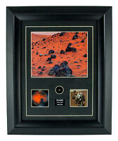 Mars Meteorite Print with Specimen Includes Certificate of Authenticity Attached