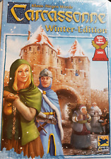 Carcassonne - Winter Edition, Brand New with English Rules