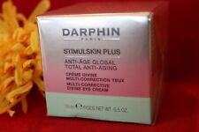DARPHIN STIMULSKIN PLUS MULTI CORRECTIVE DIVINE EYE CREAM FULL SIZE .5 SEALD BOX