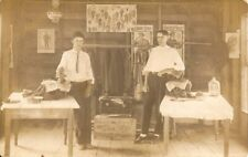 Gentlemen Posing In Their Mens Clothing Store Real Photo Postcard - 1913