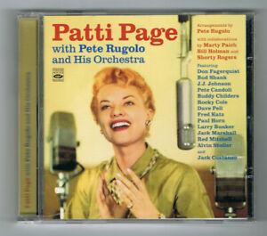 ♫ - PATTI PAGE - WITH PETE RUGOLO & HIS ORCHESTRA - 24 TITRES - TRÈS BON ÉTAT -♫