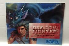 Dragon Fighter Nintendo NES Instruction Manual Book Only