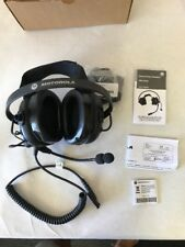 Motorola BDN6645 PMLN5320A Black Headband Headsets Noise Reduction 24 Decib J-30