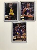 KOBE BRYANT 1999 COLLECTOR'S EDGE 3 CARD SPECIAL SET KB 1-3 LA Lakers