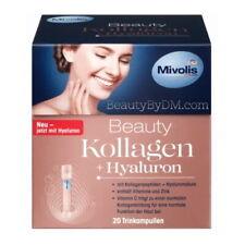 Mivolis Beauty COLLAGEN  PEPTIDES + HYALURON reduces Wrinkles Depth  20 ampoules