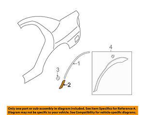 SUBARU OEM 02-07 Impreza Exterior-Lower Molding Trim Left 91022FE010