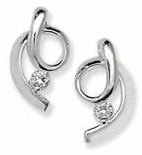 Round Cubic Zirconia Costume Earrings without Theme