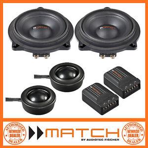 "Match MS 42C-BMW.1 BMW 1 Series 4"" 10cm 2-Way Component Car Speakers"