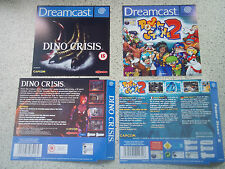 Sega Dreamcast Replacement Game Case Cover Sleeves/Insert.REPRODUCTION.