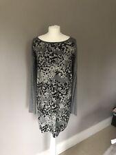 Hugo Boss Silver Wool Dress, Size M (UK 10/12)