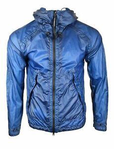 C.P Company SS21 Lyons Blue Nyber Goggle Jacket RRP £615