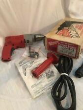 "Milwaukee Heavy-Duty Holeshooter 1/2""Magnum Vari Speed New/Old Stock #0244-1"