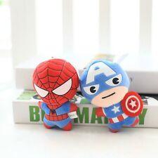 Spider Iron Man Captain America Plush Stuffed Doll Plush Toy Birthday Christmas