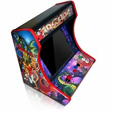 MDF Bartop Arcade Cabinet - DIY Kit w T-Molding Cuts Included! Pick Your Panels!
