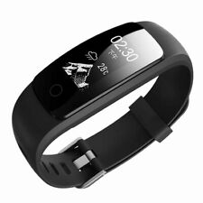 LETSFIT ID107PlusHR Fitness Tracker Smartband HR monitor + many more OLED 2 colo