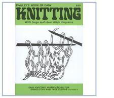 TWILLEYS childrens livret livre apprendre à tricoter diagramme instructions B20