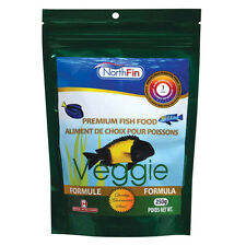 NORTHFIN VEGGIE FORMULA PREMIUM FISH FOOD 250 GRAM 1 mm PELLET  FREE SHIPPING