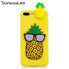 3D Cartoon Animal Soft Case Phone Back Cover Shell Skin For iPhone (L66)
