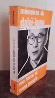 Memorias de La Dalai Lama Ma Tierra Y Mon Popular John Didier 1963 Dibujado IN 8
