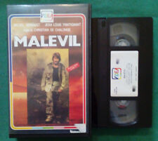 VHS FILM Ita Drammatico MALEVIL michel serrault trintignant ex nolo no dvd(VH95)