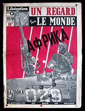 UN REGARD MODERNE Complete Run Six Issues Bazooka Liberation 1978 ~ PARIS Latest