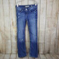 Buckle BKE Denim Payton Womens Jeans Size 28 Boot Cut 31 Inseam Distressed