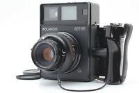 [Mint] Polaroid 600SE Medium Format Camera + 127mm F/4.7 Lens + Grip From JAPAN