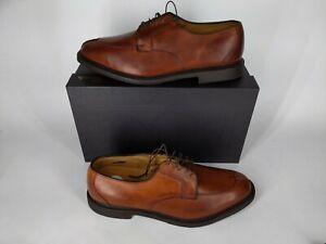 New Allen Edmonds Oxfords Ashton Split-Toe Chili Shoes Size 14 E retail $395 NIB