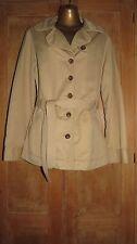 Vintage Biege Levi's Belted Jacket. Size Large