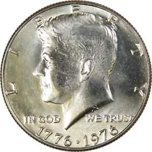 1976 Kennedy Bicentennial Half Dollar BU Uncirculated Mint State 50c US Coin