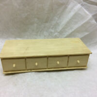 Vintage Doll Furniture Dresser by Susy Goose Jonesville Michigan Made in USA
