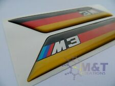 X2 BMW M SPORT WING badge/emblem Side Wing Fender BMW M3 M5 X3 X5  german flag