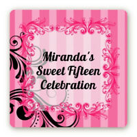 Details about  /Peace Tie Dye Custom Birthday Party Rectangle Stickers 2oz Sanitizer