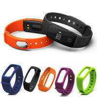 AG_ Replacement Fitness Tracker Waterproof Strap Band for ID107 Smart Watch Myst