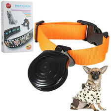 Hot Dogs Cats Puppy Digital Black Pets Collar Cam Camera Video Recorder Monitor