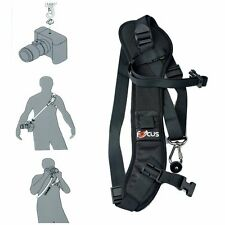 Camera Strap Carry Speed Sling Strap Canon Nikon Sony Black Strap Suspender