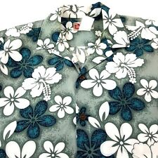Hilo Hattie Shirt Button Up The Hawaiian Original Mens Medium 100% Cotton Hawaii