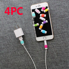 4Pcs Lightning Charger Cable Saver Protector for iPhone 5s 5 6 Plus Protective