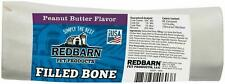 Redbarn Peanut Butter Filled Bone for Dogs Large
