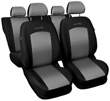 Seat covers fit RENAULT MEGANE 1 2 3 4 III IV FULL SET black/silver sport line