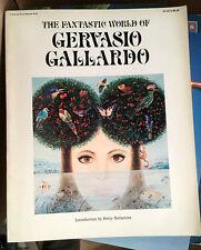Sale! Fantastic World of Gervasio Gallardo art book SC 1st 1976 Peacock/Bantam