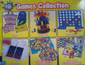 6 in one game Board toy games CHILDREN FUN GIFT UK Seller