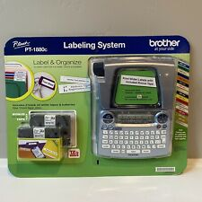 Brother P Touch Pt 1880c Label Amp Organize Labeling System New Sealed Item 558526