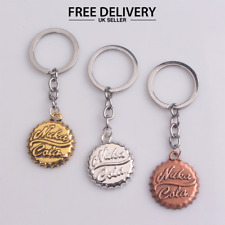 Fallout Métal Porte-clés NUKA COLA Choix de Couleurs Keychain bijoux Vendeur Britannique