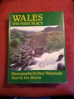 WALES:  The First Place by Jan Morris ~~ FREE SHIPPING!!