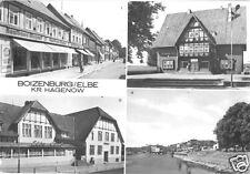 AK, Boizenburg Elbe Kr. Hagenow, vier Abb., 1988