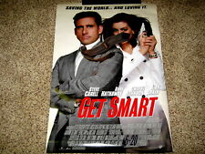 Get Smart Original Movie Poster 27 x 40 Double Sided Rolled 2008