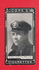 COPE BROS. & CO. LTD. - RARE MILITARY / V.C HEROES CARD  -  VINEY  -  1917